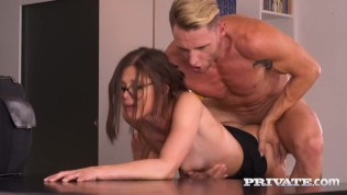 Private Com – Huge-chested Brown-haired Step Sista Natali Ruby Wanks Step-brother's Immense Old Chap!